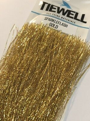 Tiewell Sparkleflash Silver Quality Fly Tying Materials from BWCflies