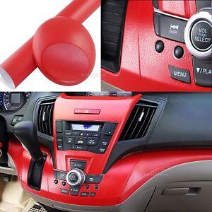 Bubbles Free Matte Car Interior Leather Grain Texture Film Vinyl Wrap Sticker AB