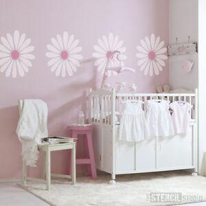 Daisy Flower Home Decor Wall Furniture Craft Diy Stencil The Stencil