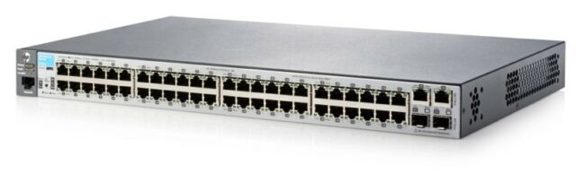 J9781A HPE 2530 48 SWITCH LAYER 2 48 X (10/100) + 4 X SFP PORTS MANAGED