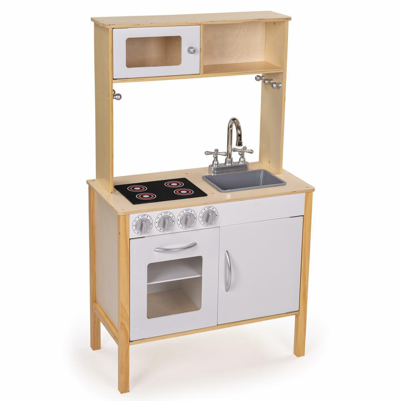 Kinderküche Spielküche aus Holz Kinderspielküche Spielzeugküche Holzküche Holzküche Holzküche Küche 0bda4f