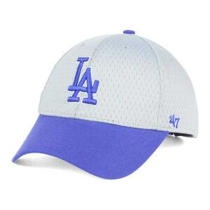 10a7e45d6ec9e Los Angeles Dodgers  47 MLB Breeze MVP Mesh Baseball Cap Hat ...