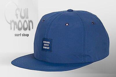 Albert Navy Mens 6 Panel Strapback Cap Hat New Herschel Supply Co