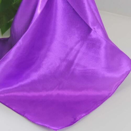 Neck Scarf 71 Vintage Elegant Designs Silk Satin Feel Ladies Small Square Head