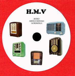 Details about HMV H M V Audio Repair Service manuals schematics on 1 dvd in  pdf format
