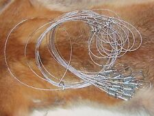 "48"" 1/16th Micro Lock Snares good for bobcat(1 DZ) [traps, trapping,snares]SALE"