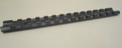 Sun Optics Black 13 Slot Picatinny Scope Rail base for RUGER 10//22 .