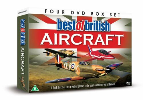 1 of 1 - Greatest Planes BEST OF BRITISH AIRCRAFT DVD Harrier Red Arrows Spitfire Vulcan