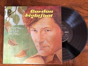 Gordon-Lightfoot-First-Time-Ever-I-33RPM-12-034-Vintage-Vinyl-LP-1979-Excellent