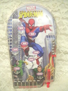 PINBALL-MACHINE-SPIDERMAN-MARVEL-2008