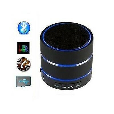 Portable Bluetooth Speaker Handsfree Calling USB/AUX/MicroSD Slot