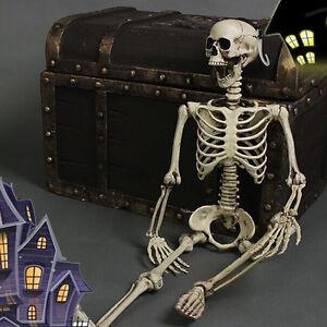 Creative-Halloween-Skeleton-Decor-Scary-Man-Bone-Anatomy-Skull-Prop-UK