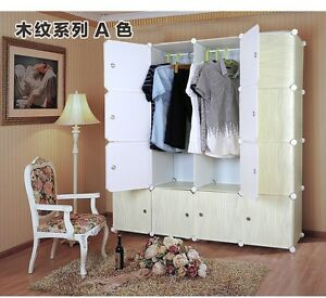 Supreme- Plastic Wardrobe Cupboard Almirah -Lkl-80- Wc- Wh
