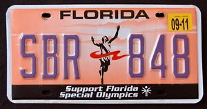 FLORIDA-034-SUPPORT-SPECIAL-OLYMPICS-SPORT-034-FL-Specialty-Graphic-License-Plate