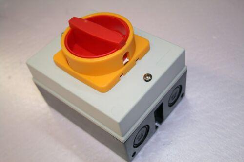 Not Aus 32A Schalter Reparaturschalter 11KW 32A Motorschalter K/&B NHS-32A
