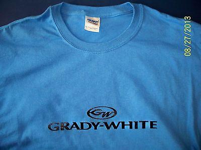 Trophy Boats Screen Printed White Champion T-Shirt  M-3XL Heavy Cotton