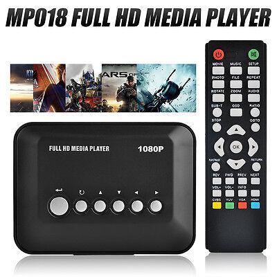 Multi TV Media Player HDMI 1080P Full HD Video YPbPr USB AV SDHC MKV RM RMVB