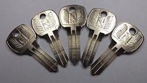 5-NOS-National-Lock-OEM-Key-Blanks-68-590-1-Ornate-Cabinets-Vending-Locksmith