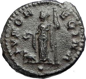 CLAUDIUS-II-Gothicus-Authentic-Ancient-268AD-Roman-Coin-JUNO-w-PEACOCK-i67107