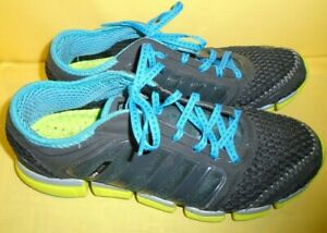 Details about Women's Adidas Climacool Size 8 1/2 Shoes Black, Neon Green, Blue
