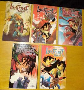 Lot de 5 mangas Lanfeust Quest