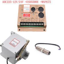 Actuador 1PC ADC225-12V/24V + controlador 1PC ESD5500E + Sensor 1PC MSP675