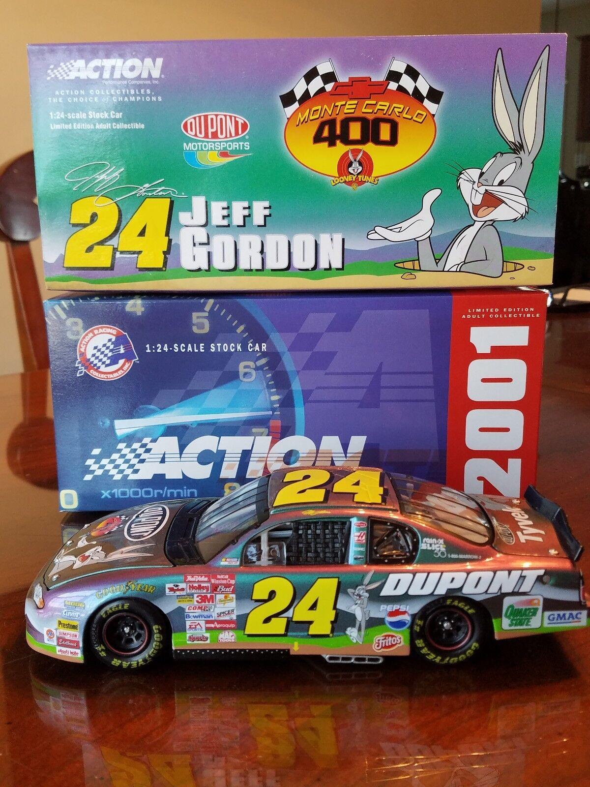 2001 Jeff Gordon DuPont  Looney Tunes 1 24 24 24 Scale 5bcdc8