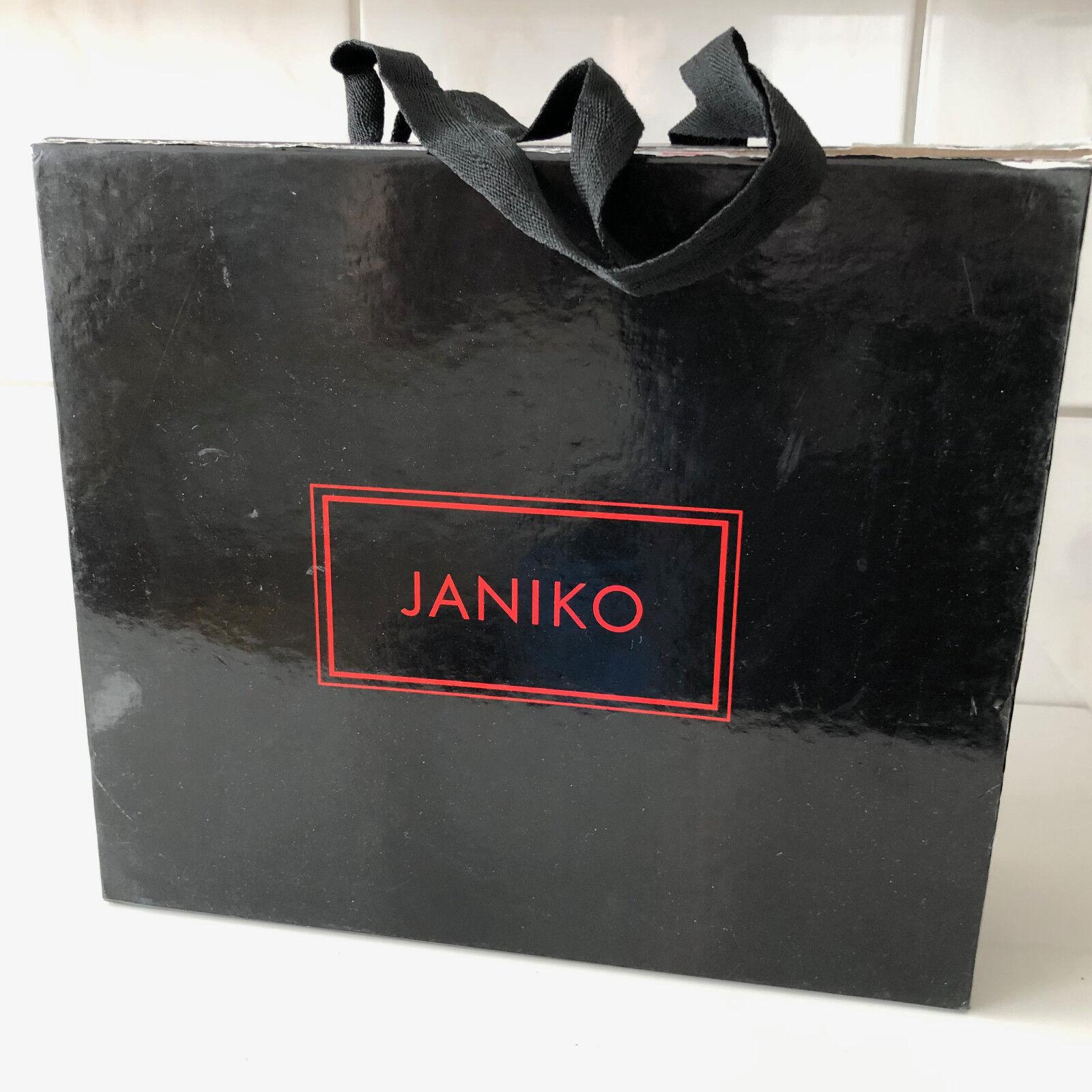 Janiko Damen Pumps  Marline Marline Marline  Gr. 38 Wildleder schwarz High Heels Strass 9f51e6