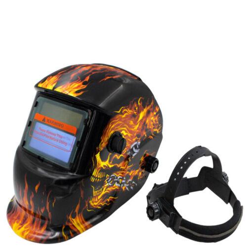 UK Auto Darkening Welding Helmet Mask Welders Grinding Function Solar Power