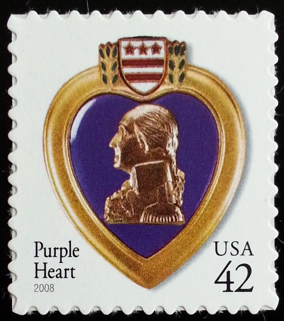 2008 42c Purple Heart, Special Issue Scott 4264 Mint F/