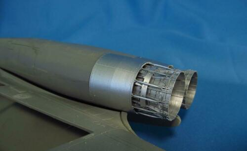B-1B Lancer Jet nozzles resin parts Revell Metallic Details MDR4835-1//48