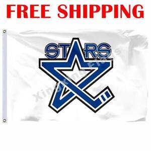 Lincoln-Stars-Logo-Flag-USHL-Hockey-League-League-2018-Banner-3X5-ft