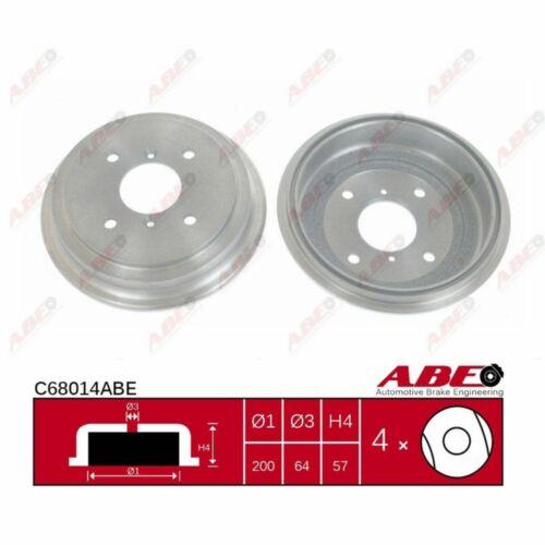Bremstrommel 1 Stück ABE C68014ABE