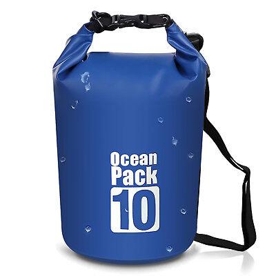 Outdoor Dry Sack/Floating Waterproof Bag 10L/20L for Boating, Kayaking, Hiking