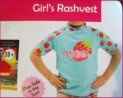 Shorts NEW GIRLS 2 pc RASHI SWIMWEAR Sz 6 8 10 PINK TOGS Long Sleeved Rash Top