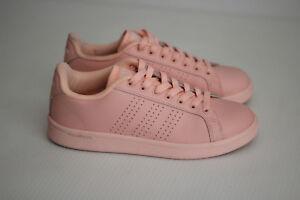 Details about Adidas NEO Cloudfoam Advantage Clean Fashion Sneaker - Coral - Womens 7US (B16)