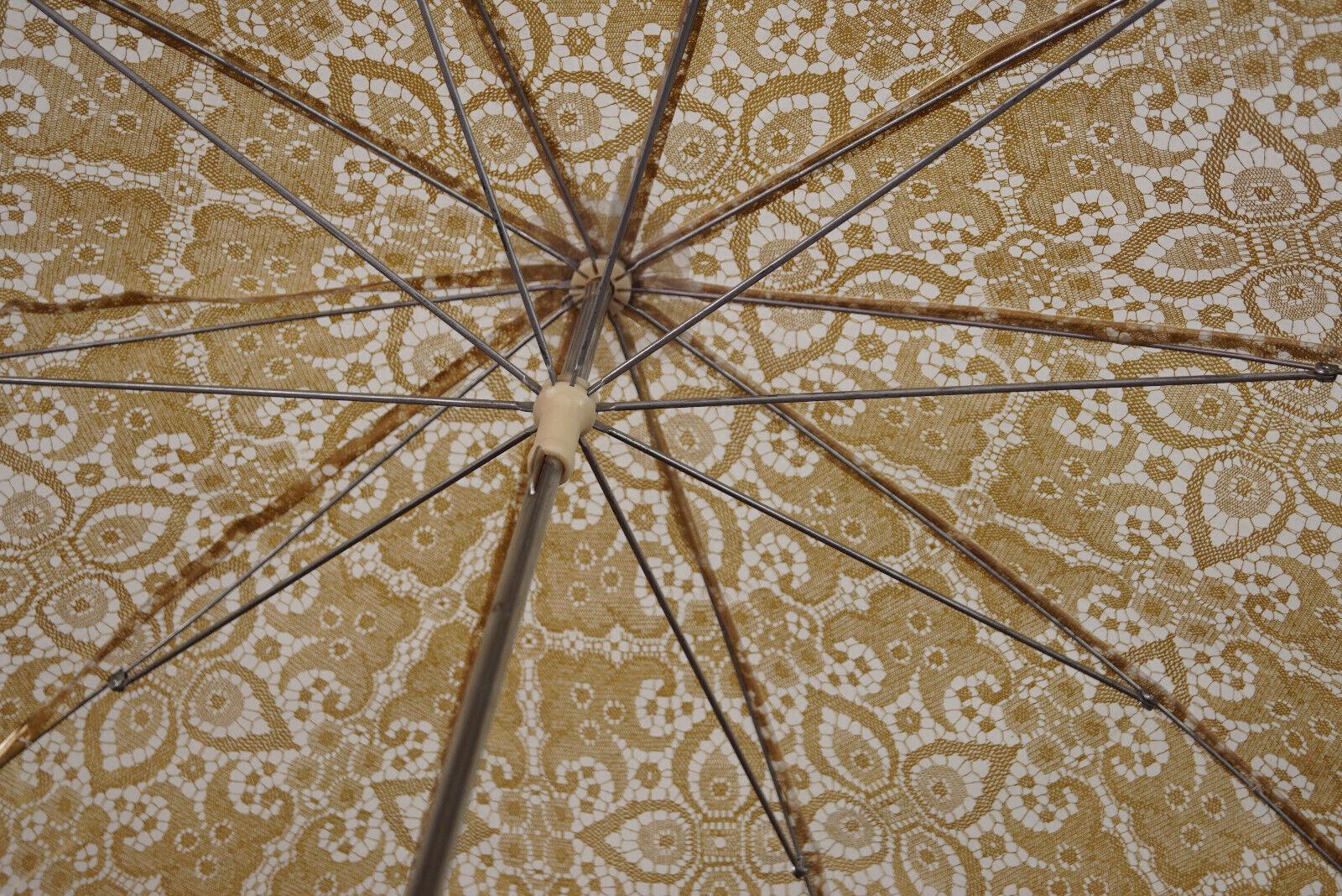 70er True Vintage Umbrella Retro Sunshade Umbrell… - image 4