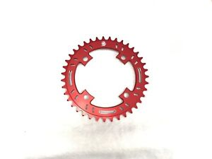 Snap-BMX-Products-S4-104mm-4-bolt-Chainring-38t-Red