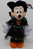 Halloween Disney 21 In Minnie Mouse Dressed Orange Black Witch Porch Greeter