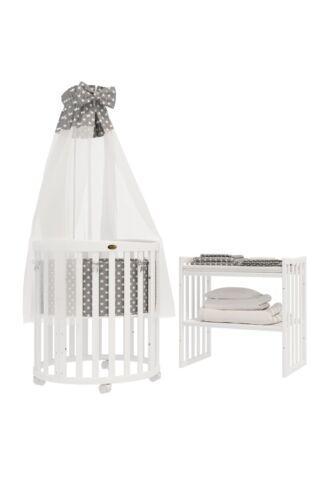 Himmelstange ComfortBaby® BETTSET für Babybett SmartGrow 7in1