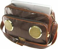 Fi-hi Master Speaker Messenger Bag W/ Laptop Compartment Chocolate Brown