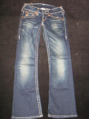 Donna 26 W True Stretch Distressed T Bobby Super Low Religion Bootcut Sz Jeans xZZRqX0