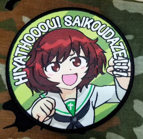 Girls und Panzer Ooarai Girls Academy Yukari Akiyama Patch Morale Dutchko