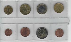 Série Euro France 8 pièces neuves 2000
