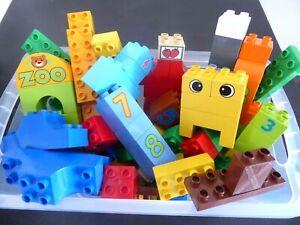 LEGO-DUPLO-60-Duplo-Briques-Blocs-de-construction-Starter-Set-Motif-pierres-kg-kilo-liasse