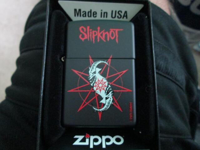 2015 SLIPKNOT #1 ZIPPO LIGHTER LIMITED EDITION NEW IN ORIGINAL BOX NIB RARE