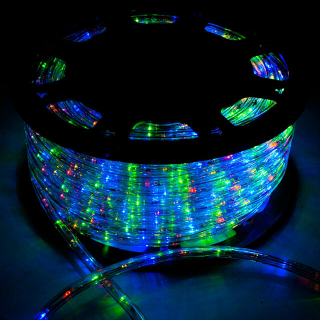 Christmas Home Decoration,Colorful WALCUT 110V LED Rope Light PVC Rope Strip Light for Party