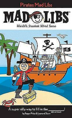 1 of 1 - Pirates Mad Libs-ExLibrary