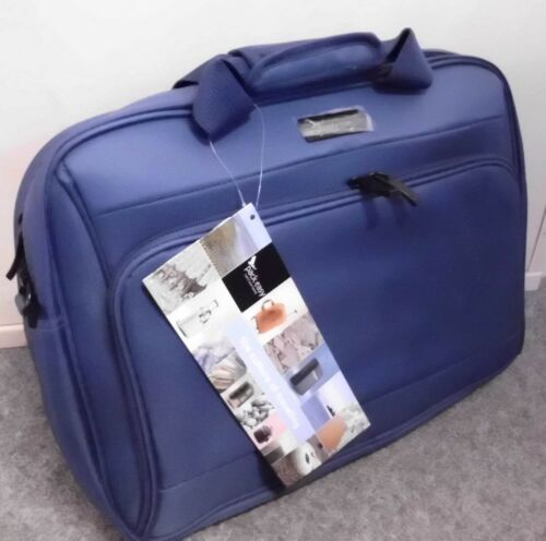 Pack Easy Business Laptop Mappe Aktentasche blau 42x32x13 cm Laptoptasche Neu