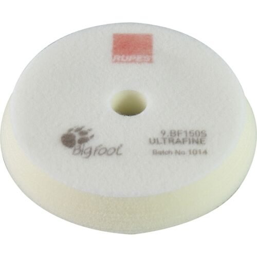 Backing Plate for 5 In Rupes 9BF150S  White Foam Ultrafine Pad 6 In